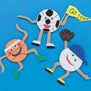 Worldwide sport craft, kids sports crafts, crafts for kids, vbs crafts, cla Kids Sports Crafts, Sport Craft, Toddler Crafts, Crafts For Kids, Fun Arts And Crafts, Vbs Crafts, Camping Crafts, Camping Cot, Sport Themed Crafts