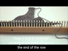 Loom Knit: Headband Project Part 3