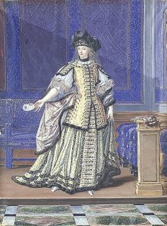 Duchess de la Vallière in Costume | Grand Ladies | gogm