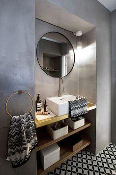 Bathroom Design & Decor - 7 Great Ideas for Your Bathroom Remodel - Ribbons & Stars Modern Interior, Interior Design, Design Interiors, Interior Decorating, Bright Homes, Simple Bathroom, Warm Bathroom, Bathroom Styling, Bathroom Renovations