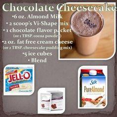 Chocolate Cheesecake Vi-shake