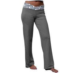 Dallas Cowboys Women's Tessie Yoga Pants - Gray