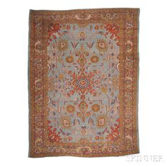 Sultanabad Carpet, West Persia, late 19th century,  13 ft. 6 in. x 10 ft.   Skinner Auctioneers Sale 2752B