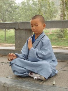 the kid is in the zen