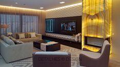 Projeto Design de Interiores - Sala de Estar e Jantar
