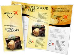 Holiday travel offer brochure design samples ideas and tourist templates .