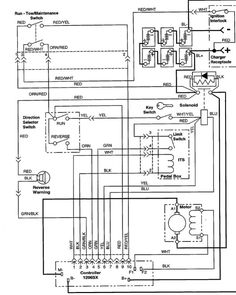 ezgo golf cart wiring diagram wiring diagram for ez go 36volt rh pinterest com ez go pds 36 volt wiring diagram 2001 ez go 36 volt wiring diagram