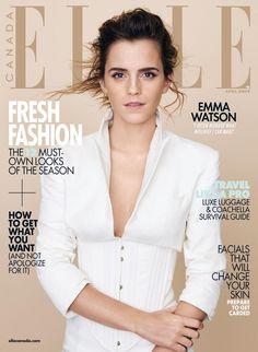 Lucy Watson, Emma Watson Elle, Alex Watson, Fashion Magazine Cover, Fashion Cover, Magazine Cover Design, Magazine Covers, Hermione Granger, Enma Watson