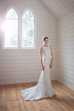 Romantic Wedding Dresses with Stunning Silhouettes from Karen Willis Holmes
