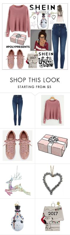 """""""Shein.com"""" by aura-helena ❤ liked on Polyvore featuring Christopher Radko, Sheinside, New, contestentry, polyPresents and shein"""