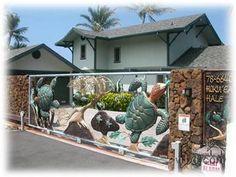 "The ""Sea Turtle Gate"" home on Alii Drive in Kona."