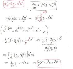Ejercicio 1 resuelto de Ecuaciones diferenciales lineales de primer orden