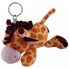 Giraffe Plush Keychain Stuffed Animal by Puzzled