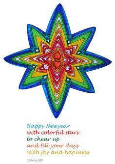 ingekleurd met viltstift  colored with fine markers by Bint