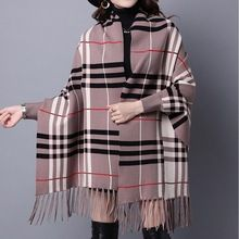 Like and Share if you want this  High Quality Lady Long Sleeve Tassel Cardigan Plaid Women Sweater Loose Winter Autumn warm wool Poncho women Cardigan Mujer     Tag a friend who would love this!     FREE Shipping Worldwide     #Style #Fashion #Clothing    Buy one here---> http://www.alifashionmarket.com/products/high-quality-lady-long-sleeve-tassel-cardigan-plaid-women-sweater-loose-winter-autumn-warm-wool-poncho-women-cardigan-mujer/