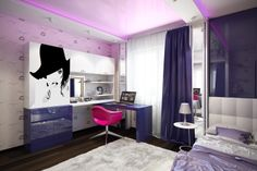 room design for girls modern interior