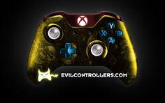 www.evilcontrollers.com  #xboxonecontroller #xbone #xbox1controller #customcontroller #moddedcontroller #XboxOne #Xbox1