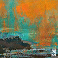 Landscape X / April 2016 Thomas Geiser / T.GO. Part of life