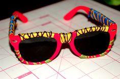 DIY Wrapped Sunglasses