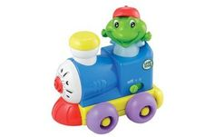 LeapFrog Counting Choo Choo by LeapFrog. $8.53. From the Manufacturer                All aboard the Counting Choo Choo for some fun with numbers. Children will love chug-chugging along with this train as they learn numbers by singing along to a delightful counting song. Parents can connect to the online LeapFrog Learning Path for customized learning insights and ideas to expand the learning. Appropriate for children ages 9 months and up.                                    P...