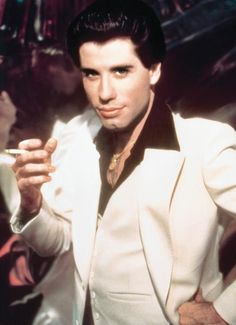 "JOHN TRAVOLTA....as Tony on ""Saturday Night Fever.""  We all fell in love with John all over again."