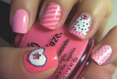 Diario de Belleza y Estilo: Cupcake nails!