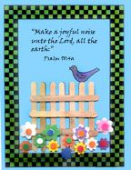 Bird Bible Craft  Stick Craft for Sunday School www.daniellesplace.com