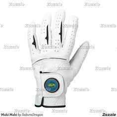 Mahi Mahi Golf Glove #fish #fishing #mahimahi #ocean #animals