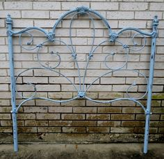 Antique Wrought Iron Bed for garden