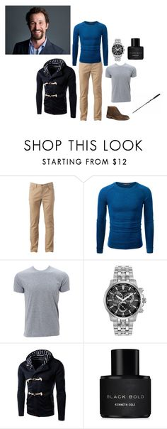 """""""James - Just One Drink"""" by elizabeth-lamp ❤ liked on Polyvore featuring Urban Pipeline, Doublju, Simplex Apparel, Citizen, Kenneth Cole, Trask, men's fashion and menswear"""