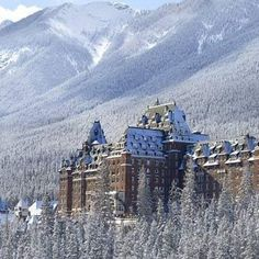 Banff Springs Hotel — Alberta, Canada | 23 Insanely Haunted Places That'll Literally Scare The Shit Out Of You