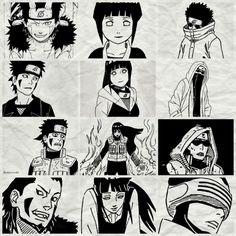 team 8 Naruto Shippuden, Hinata Hyuga, Naruto Gaiden, Itachi Uchiha, Gaara, Naruhina, Otaku Anime, Anime Naruto, Kiba And Akamaru