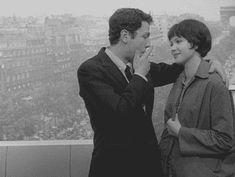 Karina is known as a muse of the French director, Jean-Luc Godard, one of pioneers of French New Wave. Description from…