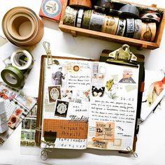 #midori #travelersnotebook #mtn #planner #washitape #diary #journal #planneraddict #midoritravelersnotebook #journals #washiaddict #washitapeaddict #手帳 #和紙膠帶 #手帐