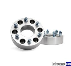 6 x 5.5″ bolt pattern with 2 Inch GM Wheel Spacers – Replacment Rough Country 1101