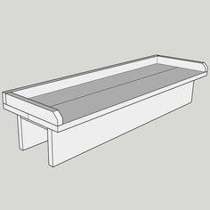 DIY Balcony Railing Table with Free Plans - Diy furniture for teens Balustrade Balcon, Balustrades, Deck Bar, Deck Table, Porch Bar, O Design, Deck Design, Diy Outdoor Furniture, Deck Furniture