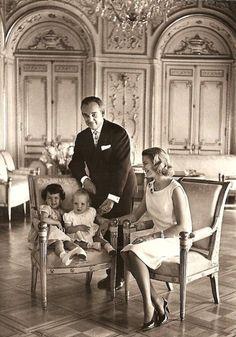 Princess Grace family