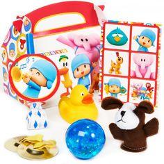 Pocoyo Party Favor Box, 83441