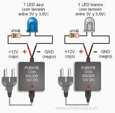 Resultado de imagen para conexiones e instalaciones de leds