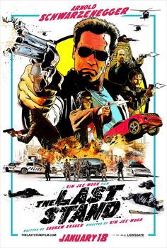The Last Stand (2013) movie poster. Loved the retro treatment.