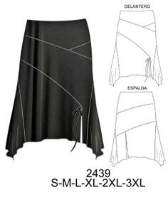 Faldas Sewing Tutorials, Sewing Crafts, Sewing Diy, Jeans Rock, Sewing Clothes, Fashion Sketches, Dress Skirt, Style Inspiration, Boho