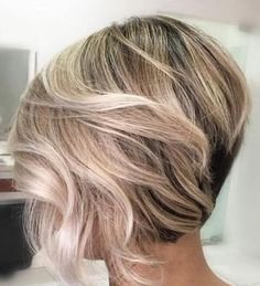 """It can not be repeated enough, bob is one of the most versatile looks ever. We wear with style the French """"bob"""", a classic that gives your appearance a little je-ne-sais-quoi. Here is """"bob"""" Despite its unpretentious… Continue Reading → Bob Hairstyles 2018, Bob Hairstyles With Bangs, Bob Hairstyles For Thick, Shag Hairstyles, Pixie Haircuts, Short Layered Bob Haircuts, Layered Bob Short, Short Shag, Short Layers"""