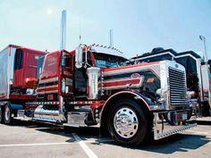 A cool semi truck