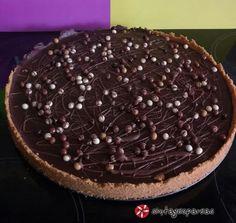 Τάρτα σοκολάτα-καραμέλα #sintagespareas #tartasokolatakaramela