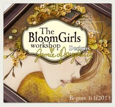 Bloom Girls Online Workshop by jaylynnscraps on Etsy, $59.99 mixed media, scrapbooking, jamie dougherty