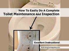 Risultati immagini per Toilet Maintenance and Inspection