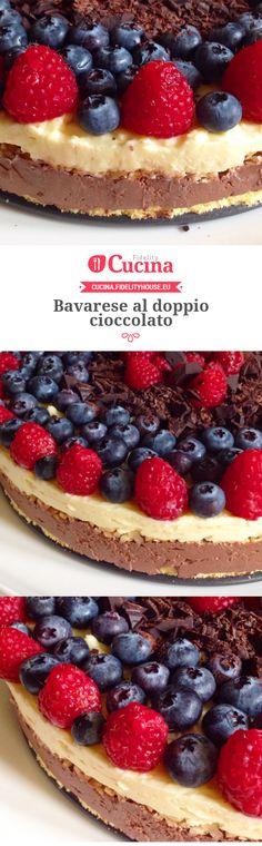 Bavarese al doppio cioccolato della nostra utente Marta. Unisciti alla nostra Community ed invia le tue ricette!
