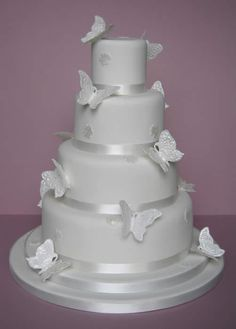 Butterfly wedding cake  Keywords: #weddings #jevelweddingplanning Follow Us: www.jevelweddingplanning.com  www.facebook.com/jevelweddingplanning/
