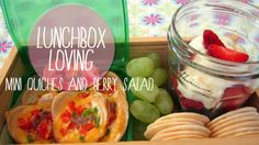 Lunch box Loving: Mini-quiches and berry salad | Village VoicesVillage Voices