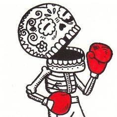 Love this illustration style / Dia de los Muertos